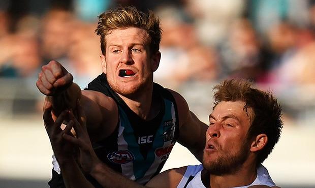AFL 2017 Round 21 - Port Adelaide v Collingwood