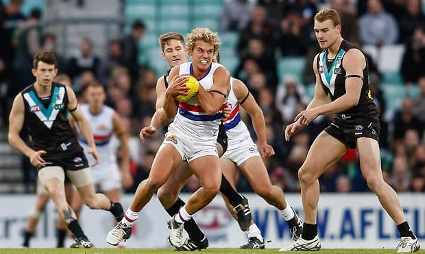 AFL 2012 Media - Port Adelaide v Western Bulldogs