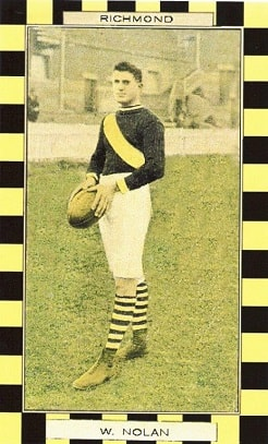 Bill Nolan played 30 games for Richmond during 1914 and 1915