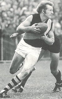 Wayne Walsh played in three Grand Finals for two premierships in 66 games for Richmond