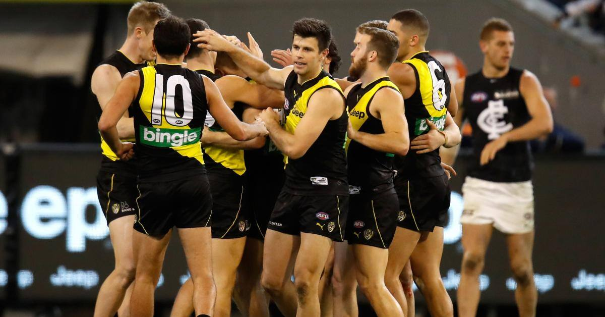 Richmond will launch the 2018 home and away season when they host Carlton at the MCG on Thursday March 22 - Richmond Tigers