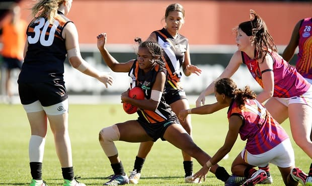 Richmond last year hosted the Youth Girls National Championships at Punt Road Oval.