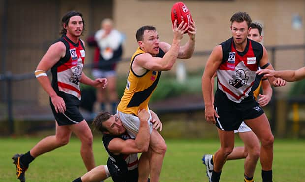 Foley, Ellis star in VFL Tigers' first win