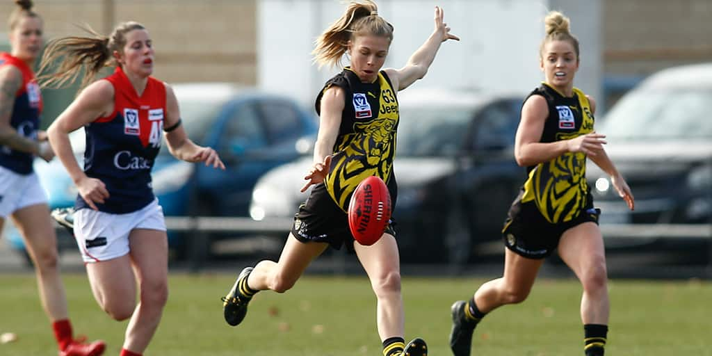 The VFLW Tigers will host the Casey Demons in Bendigo on Sunday - Richmond Tigers,VFL,AFLW