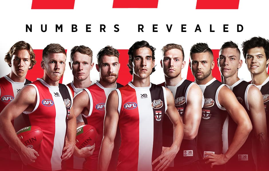 The guernsey numbers for 2019 have been revealed.  - Max King,Nick Riewoldt