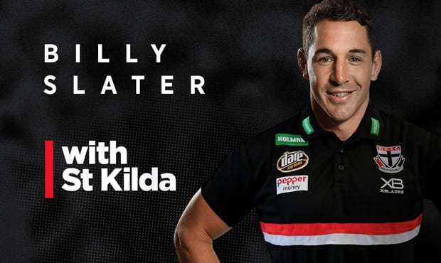 NRL great Billy Slater will be heavily involved with the Saints' leadership and development programs. - St Kilda Saints