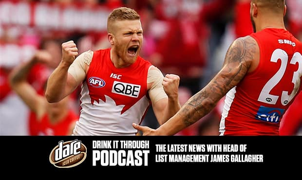 St Kilda Head of List Management James Gallagher expects to sign Dan Hannebery as a Saint this week. - St Kilda Saints,Dan Hannebery,James Gallagher,Trade,Sydney Swans