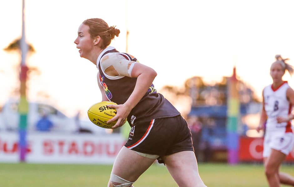 Former Southern Saint Selena Karlson has signed with St Kilda ahead of the 2020 AFLW Season. - St Kilda Saints,AFLW