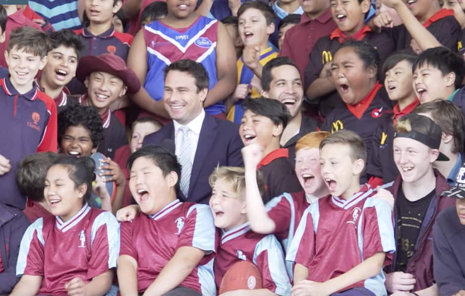 Saints and Moorabbin Airport launch All Nations program