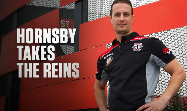 Matt Hornsby is St Kilda's new High Performance Manager.
