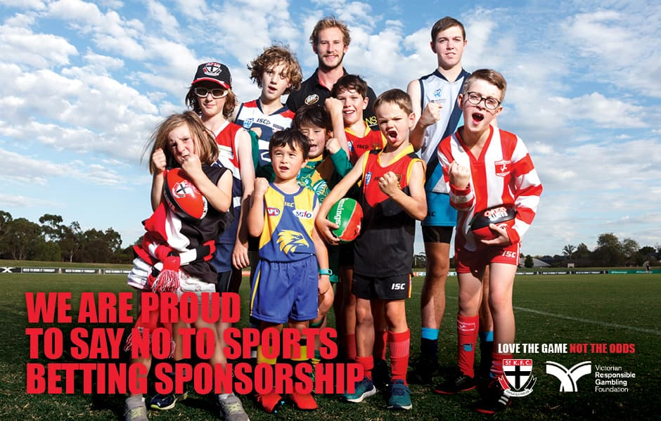 We're proud to continue our partnership with the Victorian Responsible Gambling Foundation because we love the game.