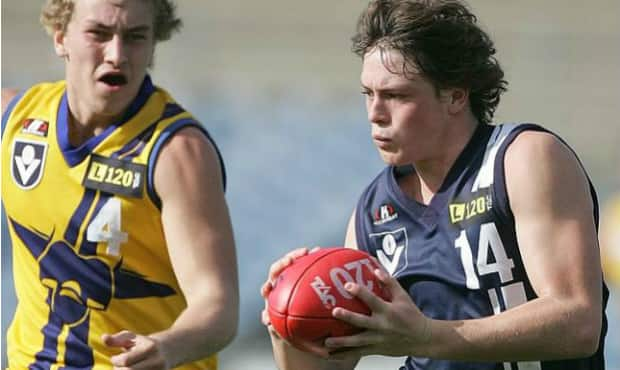Before Jack Steven was a three-time Trevor Barker Award winner, he was a Geelong Falcon.