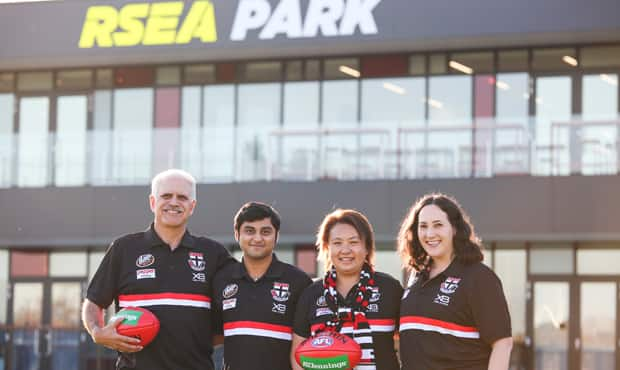 Four Multicultural Ambassadors are promoting our game to different communities across Melbourne. - St Kilda Saints