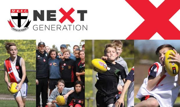 At the Saints we want you to experience playing what we think is the best game in the world, so our Saints Next Generation Academy is open to anyone aged 11-15 interested in learning about AFL for the first time or players looking to enhance their skills.