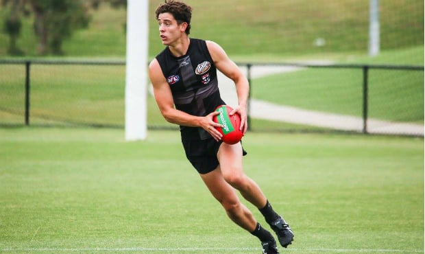 2017 No. 8 pick Nick Coffield could make an early impact for St Kilda in 2018.