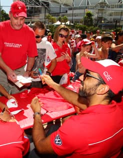 The Sydney Swans Fan Day will be held on Sunday March 10 at the SCG