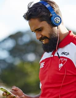 You can now get in the ear of the players before a game thanks to Volkswagen