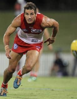 Josh Kennedy has been added to the Sydney Swans leadership group for 2013