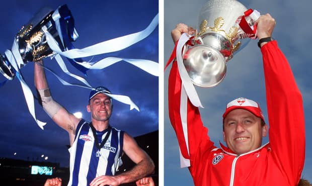 John Longmire has tasted premiership success as a player (1999) and senior coach (2012)