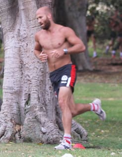Jarrad McVeigh in this week's three-kilometre time trial