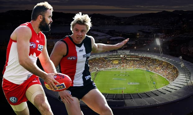 The Sydney Swans will face St Kilda in Wellington, New Zealand in the first international home-and-away match