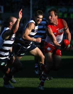 Jude Bolton in action during that famous win over Geelong