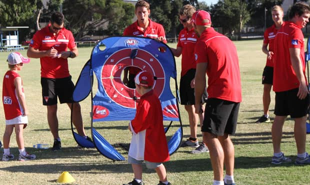 The Sydney Swans Melbourne Season Launch will be held this Saturday at MSAC