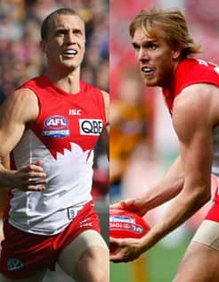 Swans premiership players Ted Richards and Lewis Roberts-Thomson have both signed contract extensions.