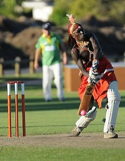 The Maasai Cricket Warriors will take on the Sydney Swans XI on February 4 at the SCG.