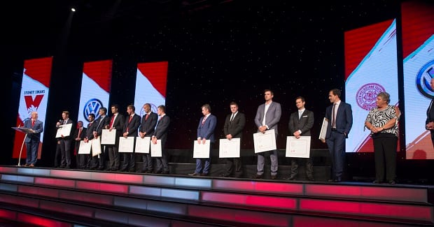 Sydney Swans Guernsey Presentation and Hall of Fame Induction Dinner