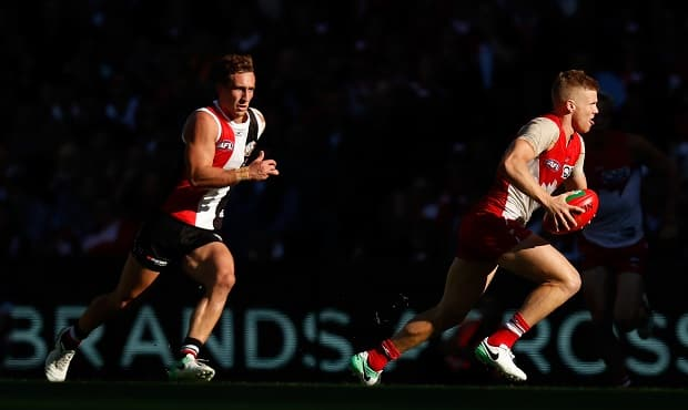 Dan Hannebery was the star of the show at Etihad Stadium on Saturday afternoon.