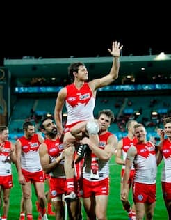 Kurt Tippett has announced his retirement after playing 178 games for the Crows and the Swans. - Kurt Tippett