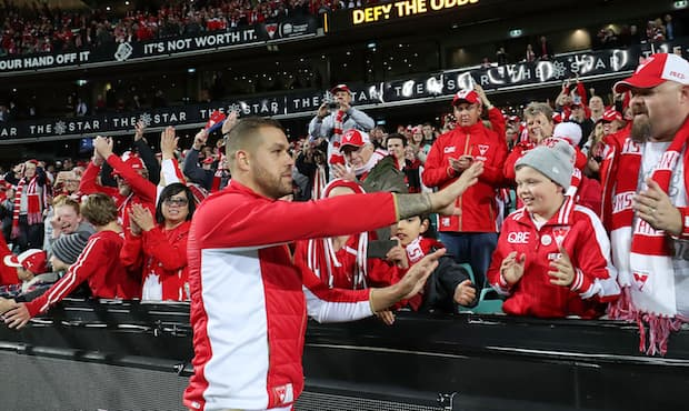 The Sydney Swans surpassed the 40,000 member mark this week.
