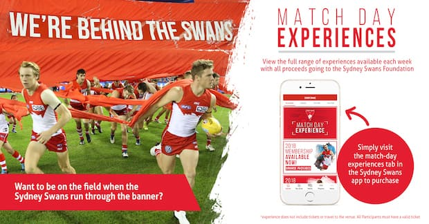 Enhance your match day experience in season 2018 at the SCG.
