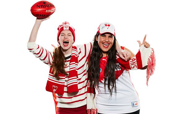 Swans member Emma Castro will once again be cheering on the Swans at the SCG this weekend.