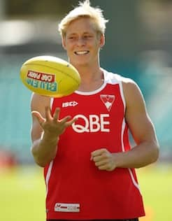 Isaac Heeney has overcome his concussion and is expected to return to face North Melbourne on Sunday.