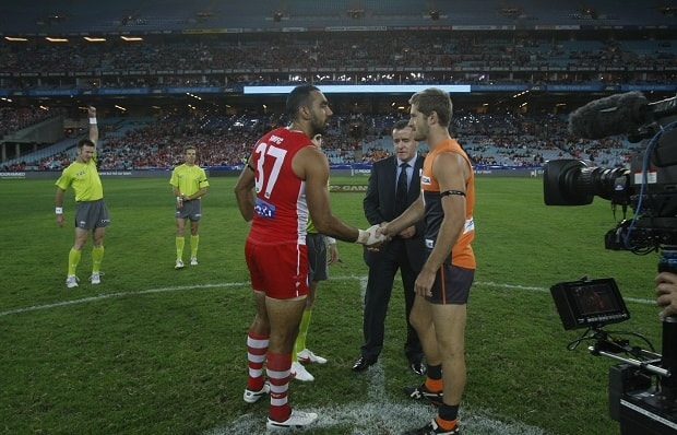 AFL 2012 Rd 01 - GWS Giants v Sydney