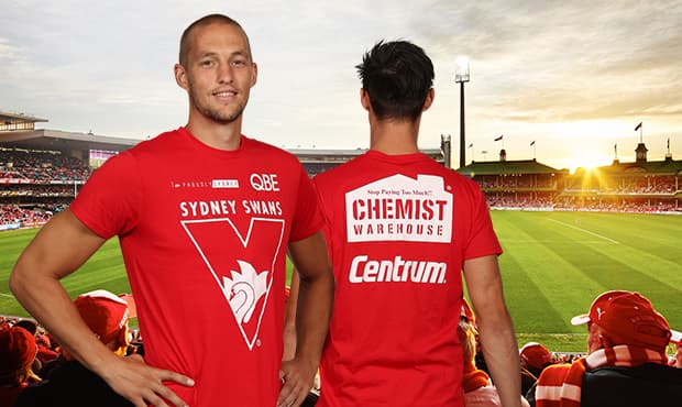 Win $10,000 at our season opener thanks to Centrum and Chemist Warehouse.