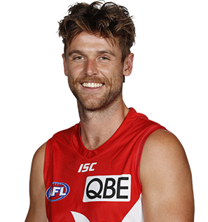 Dane Rampe of the Sydney Swans