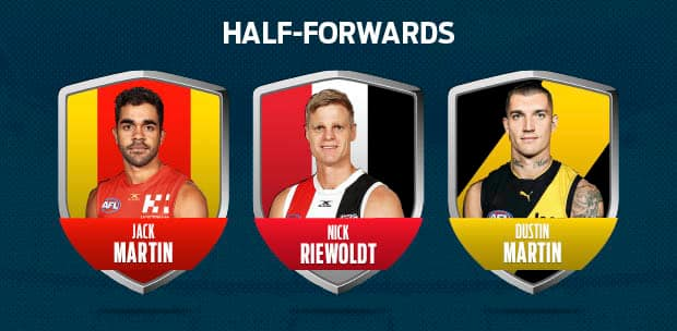 HALF FORWARDS