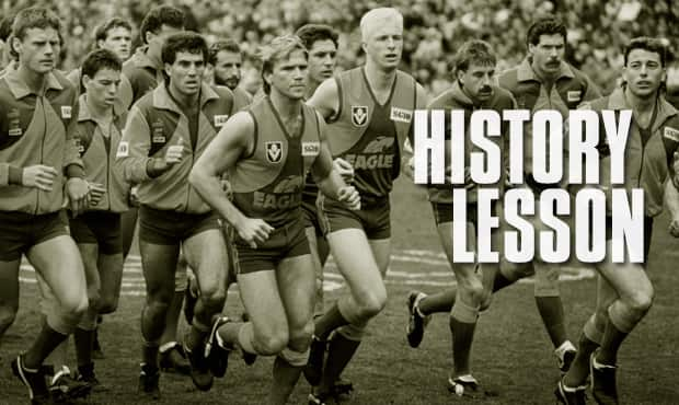 Brush up on the history of the West Coast Eagles with some online reading material