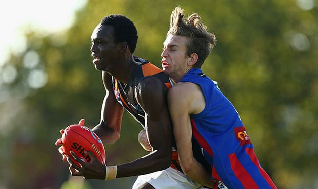 TAC Cup Rd 5 - Oakleigh Chargers v Northern Territory