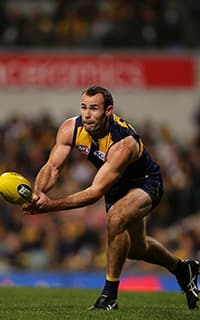 Shannon Hurn says the Eagles' showed a willingness to put their bodies on the line last night