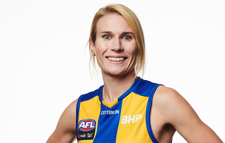 aflw hooker excited for first derby   westcoasteagles   au