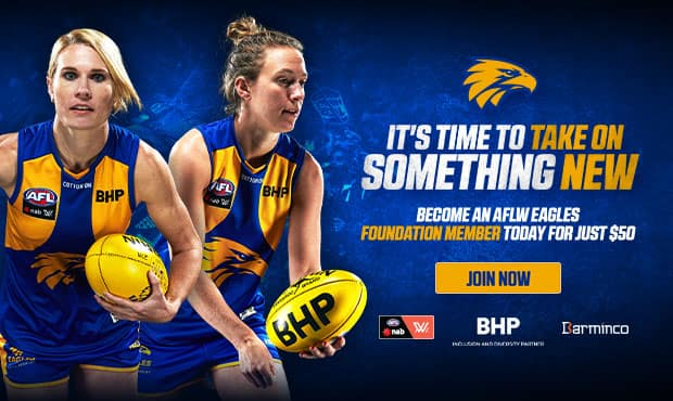 1a0e0fe61db Official AFL Website of the West Coast Eagles