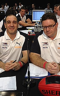 List manager Craig Vozzo and national recruiting manager Rohan O'Brien