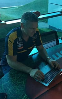 Adam Simpson took questions from fans this morning
