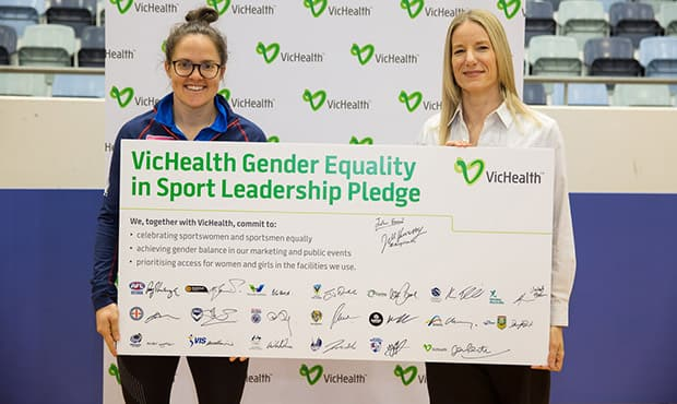 Western Bulldogs will support VicHealth's This Girl Can - Victoria campaign by working alongside the health promotion foundation to continue to raise the profile of women's sport. - Western Bulldogs