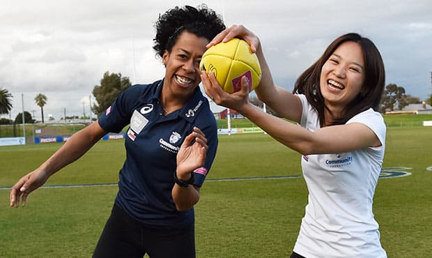 Daughters of the West women's health program has kicked off for 2017. - Western Bulldogs