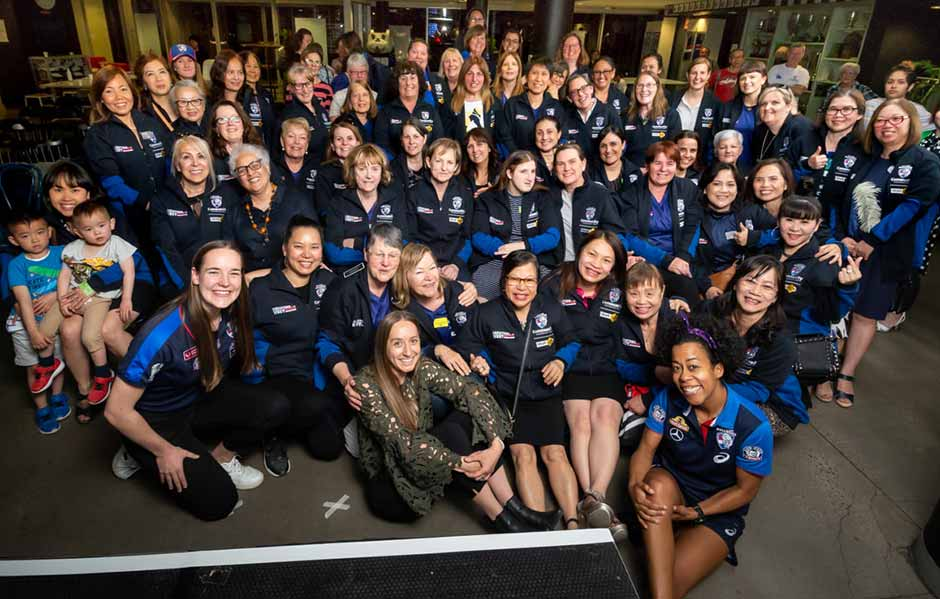 After a successful 2019 edition, our Daughters of the West program will now head to Horsham in early 2020. - Western Bulldogs